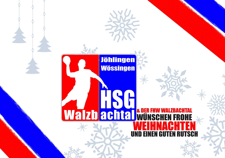 Die HSG wünscht frohe Weihnachten!